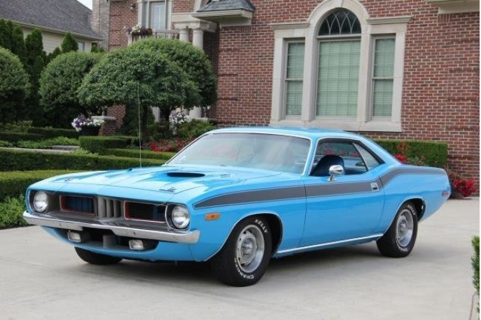 1972y Plymouth Barracuda